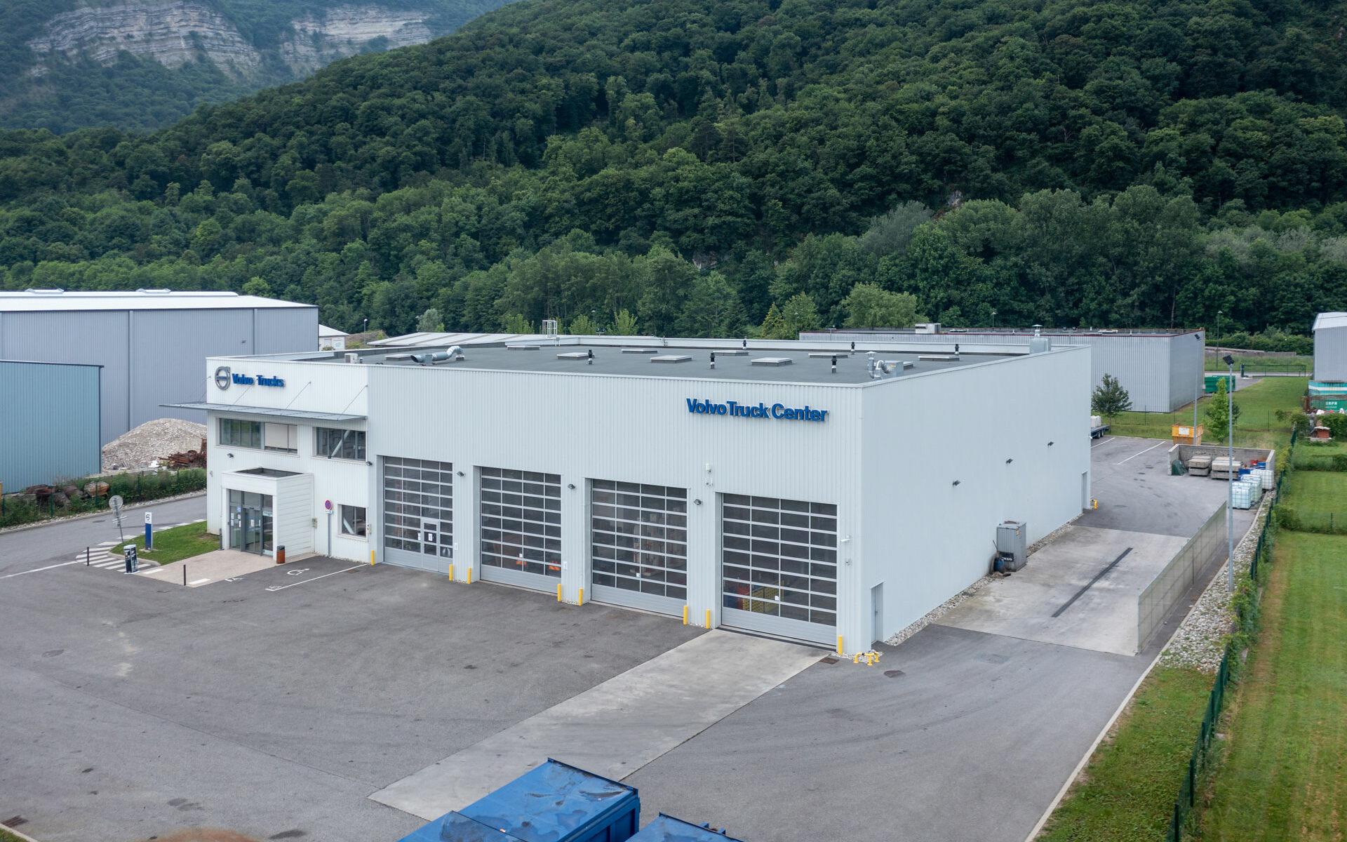 Volvo Trucks à Veurey-Voroize en Isère